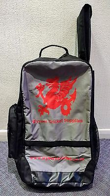 Wyvern Cricket Backpack Style Large Kit Bag-For Club/School Match/Training Use