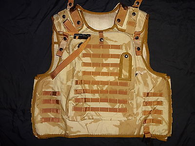 British Army OSPREY MK2 Plate Carrier Cover Vest 180/116 DESERT DPM Super Grade1
