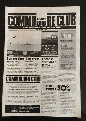 Commodore 64 - A Rare Commodore Club Newsletter Autumn 1984 Collector Catalogue