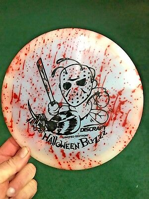 """Limited Edition JASON Halloween """" BLOODY """"  Z GLO Buzzz 175-176g + , EXCELLENT!"""