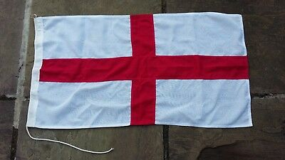 Small Vintage St.George Cross Flag 3ft (89cm) x 1ft 8in (50cm)