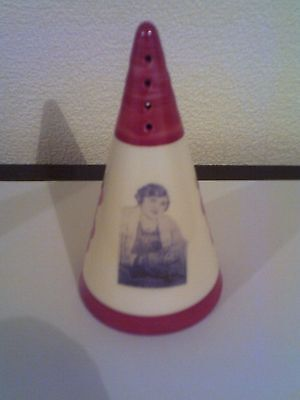 Clarice Cliff tribute Conical sugar sifter