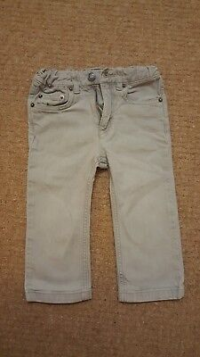 Bonpoint baby grey jean style trousers. Aged 18 months