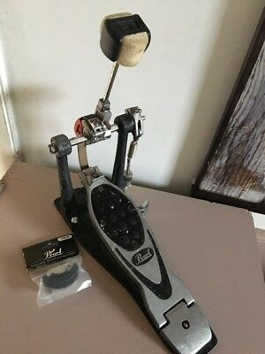 Pearl Power Shifter Eliminator Bass Drum Pedal With 2 Cams Cheap P&P