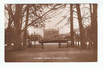 Culloden House Culloden Moor Inverness Real Photograph Early 1900's Davidson's