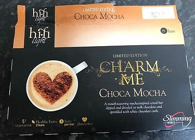 Slimming World 6 Hi Fi Light Bars Choca Mocha Limited Edition & Salted Caramel