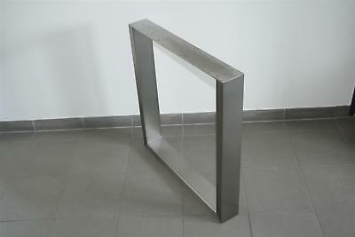 Design Table Frame Stainless Steel tischuntergestell tischkufe Skid -hort8041