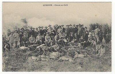 Mauritius Curepipe Chasse Aux Cerfs Deer Hunting Shooting Old Photo Postcard