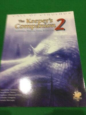 Keepers Companion Vol 2 For Call Of Cthulhu RPG