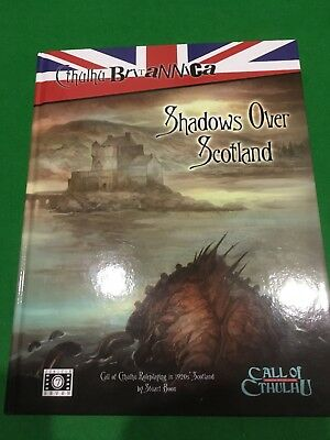 Shadows Over Scotland For Call Of Cthulhu RPG h/b