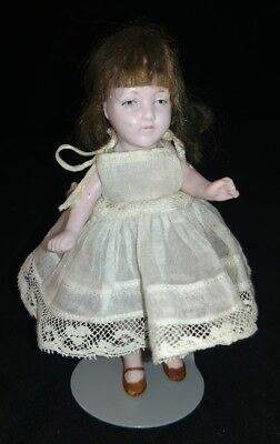 "Simon&Halbig 5"" doll French Type all Bisque Made In Germany"