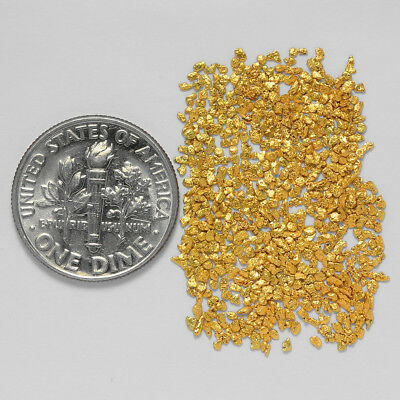 0.5970 Gram Alaskan Natural Gold Nuggets - (#21065) - Hand-Picked Quality