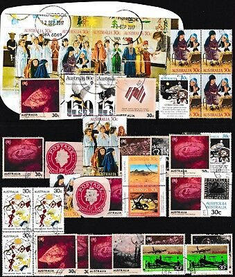 Australia Stamps.Cut Out Stamps