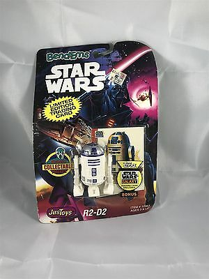 Star Wars Bend-ems R2-d2 Figure with Limited Edition Trading Card