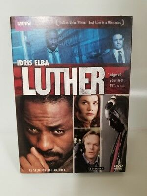 Luther The Complete First (1st) Season (DVD, 2 Disc Set, Region 1) (LP1050510)