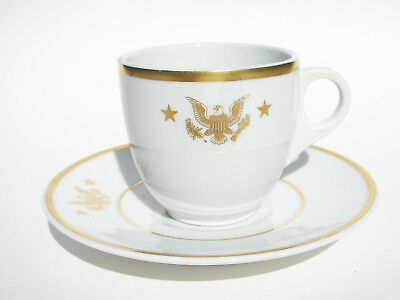 JFK Rare Presidential China from Yacht - Honey Fitz - Cup & Saucer
