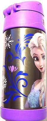 NEW! Thermos Disney Frozen! Elsa! Anna! Funtainer Stainless Steel Insulated 12oz