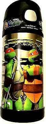 Teenage Mutant Ninja Turtles! Thermos Funtainer Stainless Steel Insulated Bottle