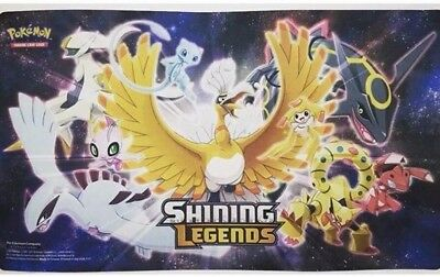 PLAYMAT ONLY  Shining Legends Super Premium Collection Box Pokemon TCG PLAY MAT