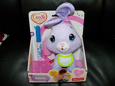 Fisher Price Doodle Bear Rabbit NEW LAST ONE