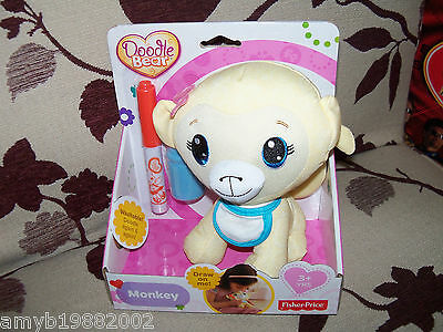 Fisher Price Doodle Bear Monkey NEW LAST ONE HTF