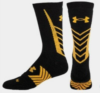 (New) Youth Under Armour UA Undeniable Crew Socks...size YLG 1-4