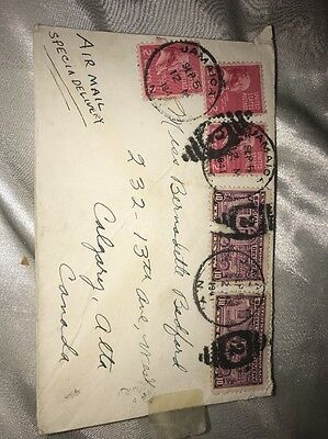 Jamaica Used Cover Letter 1941 D232
