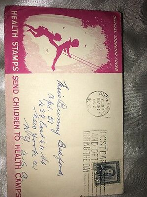 Heath Stamps 1952 First Day Cover D299