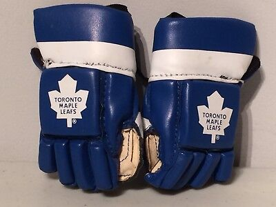 Toronto Maple Leafs Baby Mini NHL Hockey Gloves Hang Rearview Mirror Matthews