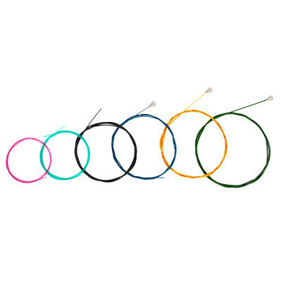 Multi Colored Nylon Classical Guitar Strings Set for 6 String Guitar Parts