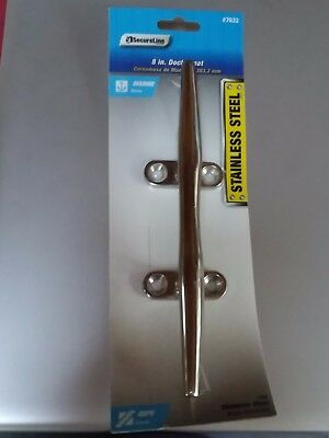 8 inch boat dock cleats Brand New in original package - never opened