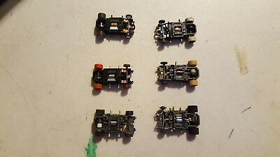 HO SLOT CAR Chassis Mixed Lot