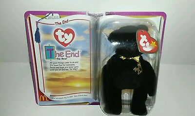 BRAND NEW TY BEANIE BABY THE END THE BEAR (McDonalds)