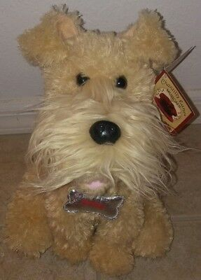 "CHANTILLY LANE MUSICALS Smiley the Terrier Animated 12"" Plush Sings and Moves"