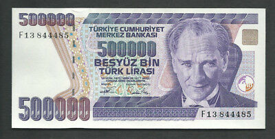 Turkey 1970 (1993) 500000 (500,000) Lira P 208 Circulated