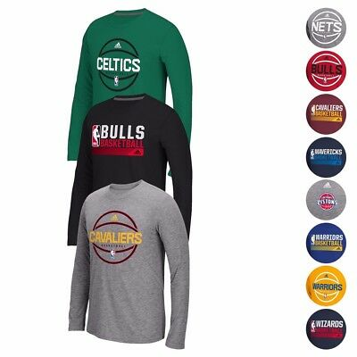 NBA Adidas Climalite Performance Long Sleeve Ultimate Tee Collection Men's