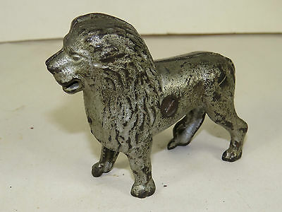 Antique Cast Iron A.C.Williams Lion Toy Coin Bank,Original Paint,FREE SHIPPING