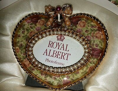 Royal Albert Old Country Roses Heart-shaped Small Frame