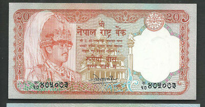 Nepal 1988 20 Rupees P 38a Circulated