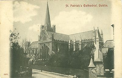 Irland, Dublin, St. Patrick`s Cathedral, 1904