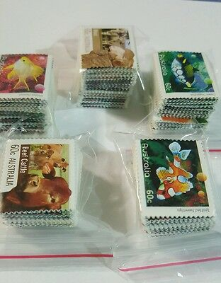 UNFRANKED MIXED VALUE Stamps WITH OVER $300+ IN FACE VALUE!!