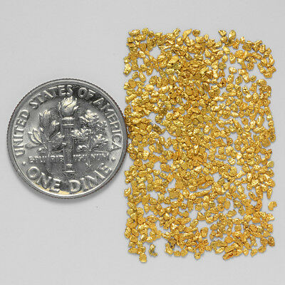 0.6424 Gram Alaskan Natural Gold Nuggets - (#21104) - Hand-Picked Quality