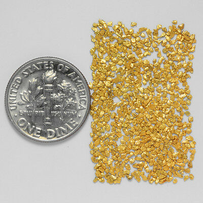 0.5929 Gram Alaskan Natural Gold Nuggets - (#21106) - Hand-Picked Quality