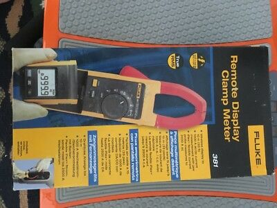 FLUKE  F381 Remote Display True RMS AC/DC Clamp Meter Tester with iFlex