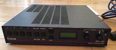 Digital video scaler Extron DVS204 with V1.06 firmware