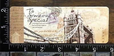 Bookmark Vintage Stile, Very Good Quality Paper, Finished Mate,  #b18