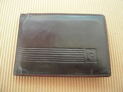 Vintage Pierre Cardin Leather Credit Card Holder Wallet