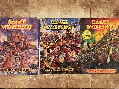 Games Workshop World of Hobby Games Magazines x 3