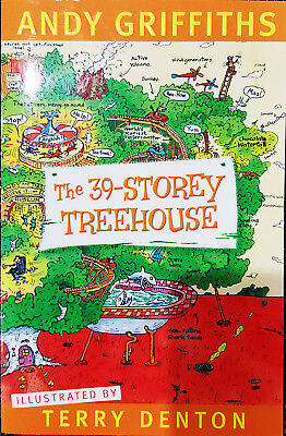 Andy Griffiths The 39-Storey Tree House  Childrens   Book