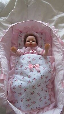 NPK Doll realistic baby doll and baby carrier